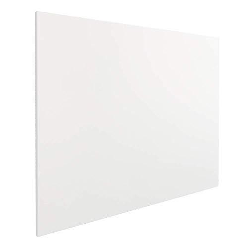Vivol Eco Magnetic Whiteboard 60x45 | Rahmenlos Design | Magnettafel Whiteboardwand Magnetwand | ohne Rahmen | 5 Größen | Hoch- und Querformat