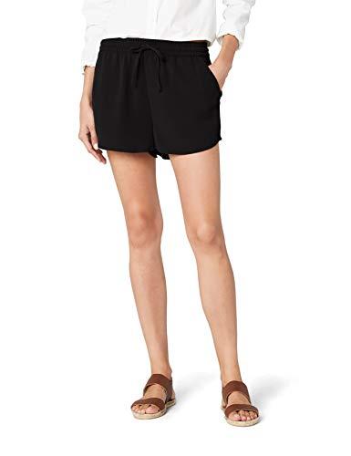 ONLY Damen Onlturner Wvn Noos Shorts, Schwarz (Black Black), M 32L EU