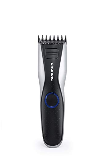 GRUNDIG MC6840 Haar-und Bartschneider, Akku/Netz, LED, Schwarz, Silber, Schnittlänge Bis 30 mm