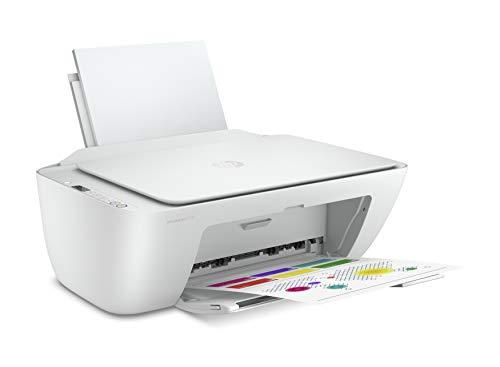 HP DeskJet 2710 (5AR83B) Multifunktions-Drucker, Drucken, Scannen, Kopieren, WLAN, A4, HP Smart, 6 Monate von HP Instant Ink im Preis inbegriffen, weiß