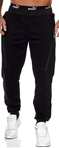 XRebel Kinder Junge Jogging Hose Jogger Streetwear Sporthose Modell W27 (Schwarz, Gr.16(164~170))