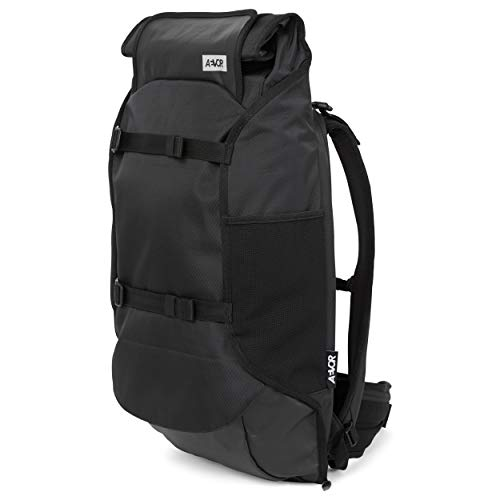 AEVOR Travel Pack - wasserfester Rucksack, erweiterbar, ergonomisch, Laptopfach