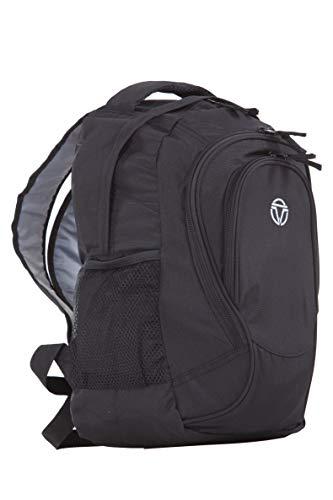Travelite Handgepäck Rucksack für Reise, Freizeit und Sport, Gepäck Serie BASICS Daypack: Funktionaler Rucksack, 096245-01, 41 cm, 22 Liter, schwarz, 30x41x20 cm