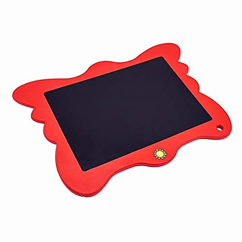 BXGZXYQ 8,5 Zoll Malerei Grade Tablet elektronische Leinwand LCD leichte Tafel Tafel Zeichenblock Schreibblock Schreibtafeln (Farbe : ROT)