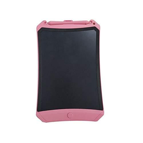 BXGZXYQ Zeichenblock Schreibblock Schreibtafeln 8,5-Zoll-Kinder-LCD-Tablet Graffiti-Smart elektronische kleine Tafel LCD handbemalte Tafel Schreibtafel Zeichenbrett (Farbe : Rosa)