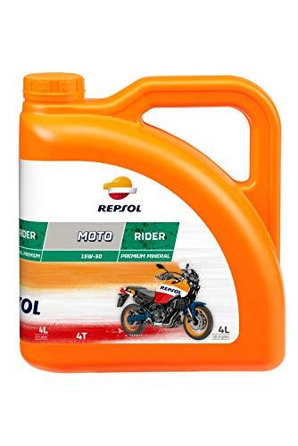 Repsol Motorenöl für Motorrad Moto rider 4T 15W- 50