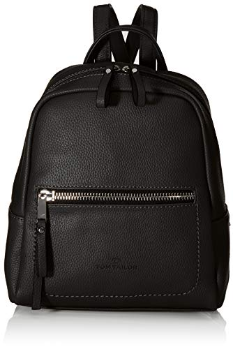 TOM TAILOR bags TINNA Damen Rucksack S, black, 24x10,5x25