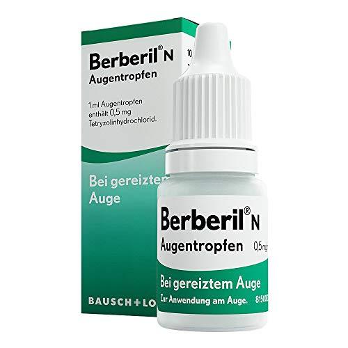 Berberil N Augentropfen bei gereizten Augen, 10 ml Lösung