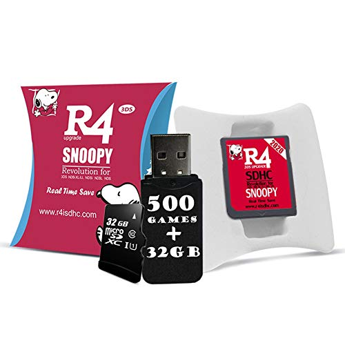 The Silver RTS Lite SDHC-Karte funktioniert für DS/DS Lite/DSi/DSi XL / 3DS / 2DS - NDS-Spiel Spielen