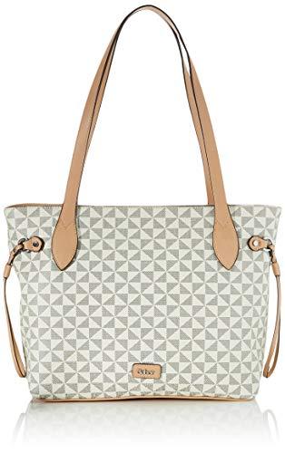 Gabor bags BARINA Damen Shopper L, mixed white, 41,5x13x29