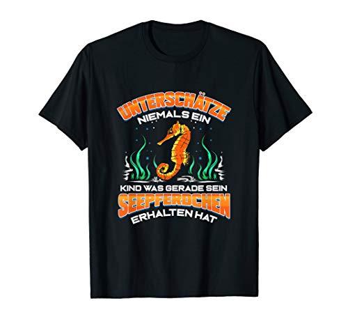Seepferdchen Abzeichen Schwimmen Frühschwimmer Geschenk T-Shirt