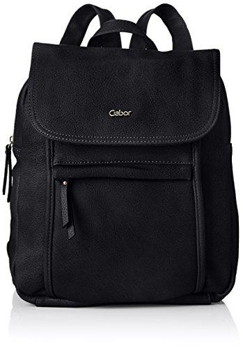 Gabor bags MINA Damen Rucksack M, black, 26x10x31