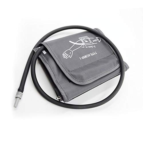 ULTNICE Oberarm Blutdruckmanschette Blutdruckmessgerät Universal Manschette für Blutdruck Druckmanschette Ersatzmanschette Blutdruckmessgerät Zubehör 22-32CM (Dunkelgrau)