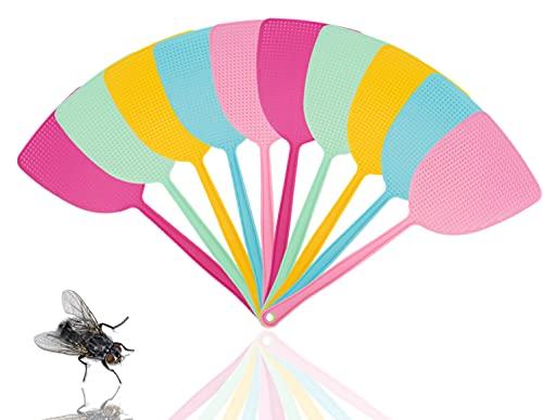TK Gruppe Timo Klingler 10x Fliegenklatsche Klatsche Mückenschaber als Fliegenfänger & Fliegenfalle vor Insekten, Fliegen, Mücken, Wespen