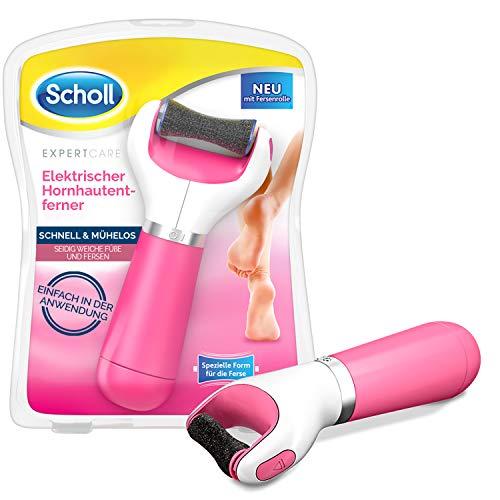 Scholl Velvet Smooth elektrischer Hornhautentferner Express Pedi - Hornhaut Entfernung mit extra starker Rolle für präzise Ergebnisse, 200 g