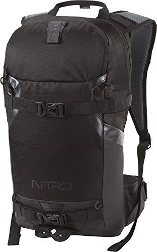 Nitro Snowboards Rucksack, Tourenrucksack, Riderbackpack, Backpack, Black Out, 14L