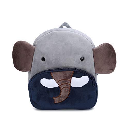 Nette Kleine Kleinkind Kinder Rucksack Plüsch Tier Cartoon Mini Kinder Tasche für Baby Mädchen Junge Alter 1-3 Jahre - Elefant