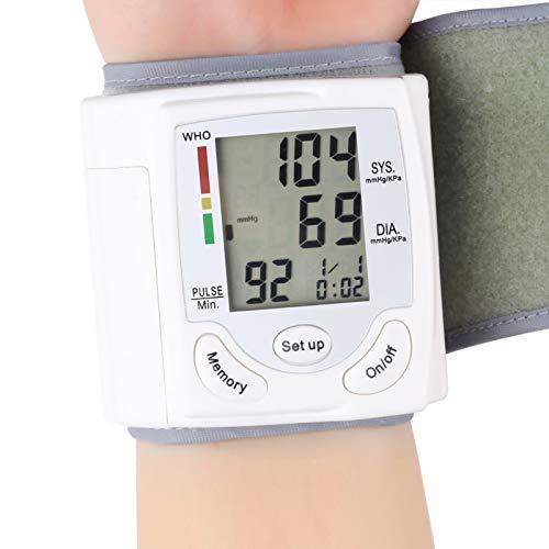 Manschettenhandgelenk des Blutdruckmessgeräts, Automatisches Digitales Blutdruckmessgerät mit Armband, Oberarm des Automatischen Blutdruckmanschettenmonitors, Pulsmessung, Herzschlag