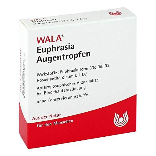 EUPHRASIA AUGENTROPFEN 10X0.5 ml