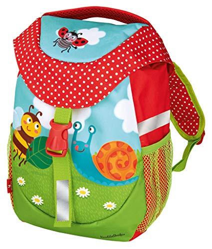 moses. Krabbelkäfer Rucksack für Kinder   Kindergartentasche mit Brustgurt   Für Mädchen und Jungen Kinder-Rucksack, 30 cm, Bunt