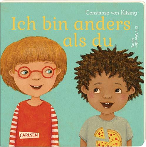 Ich bin anders als du - Ich bin wie du: Ein Wende-Pappbilderbuch über Vielfalt und Gemeinsamkeiten ab 3 Jahren (Die Großen Kleinen)