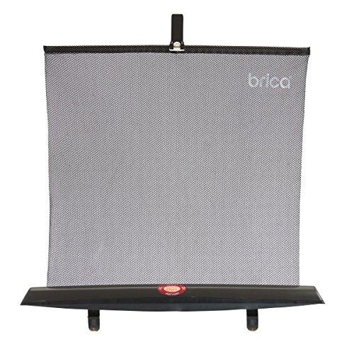 Brica by Munchkin Smart Auto-Sonnenschutzrollo, UV-Schutz und Hitzesensor, rollt mit Autofenster automatisch hoch und runter