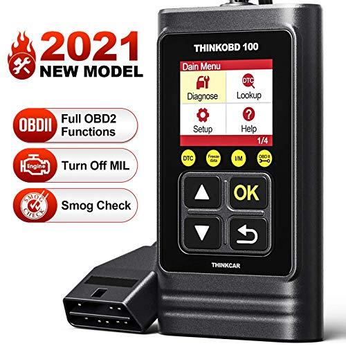 THK01 OBD2 Scanner OBD2 Diagnosegerät Universal Auto Diagnosegerät Fehlercodeleser mit vollen OBD2-Funktionen für Allen Autos mit OBD2 / EOBD/CAN-Modi und 16-Pin OBDII-Schnittstelle