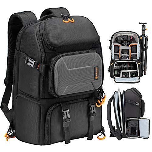 Tarion Kamerarucksack, Wasserdicht Fotorucksack Spiegelreflex DSLR Rucksack Kameratasche für Spiegelreflexkameras Digital (PBl)