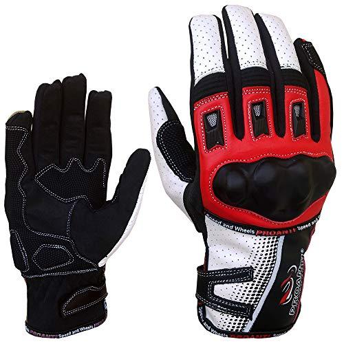 PROANTI Motorradhandschuhe Sommer Motorrad Motocross Handschuhe Größe XL