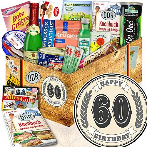 60 Geburtstag   Geschenkset DDR   DDR Spezialitäten-Box